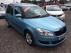 2011 SKODA ROOMSTER 1.6 TDI CR 105 SE DIESEL PANORAMIC SUNROOF