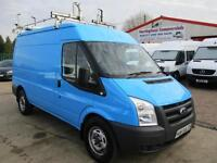 60 reg FORD TRANSIT MWB MEDIUM ROOF 2.2 TDCI 115 bhp AIR CON WORKSHOP VAN