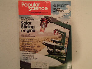 Vintage Popular Science Magazine June 1978 GC