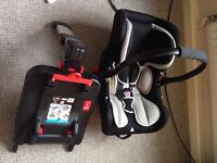Ickle bubba baby car seat carrier isofix