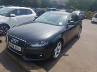 Audi a4 58reg drive like new in perfect condition service history low milge £6500