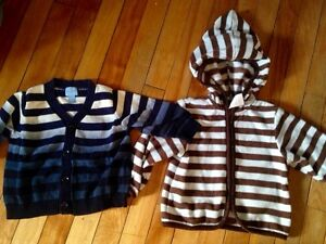Boys infant sweaters