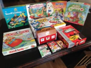 Children Youth Kids Party Games Boardgames lot - cards & more