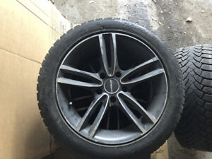 Winter tires on MAGS 225/50R17 BMW  Acura 5x120
