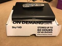 500gb Sky+ HD Box with I/O Link adapter