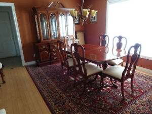 Dining room set from Stoney Creek Furniture