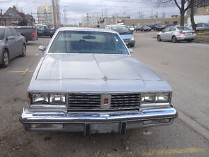 1986 OLDS CUTLASS SUPREME BROUGHAM