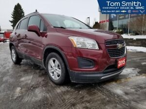 2015 Chevrolet Trax LT  - Certified - Bluetooth - $120.30 B/W