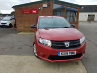 2015 Dacia Sandero 1.2 16v Ambiance MANUAL PETROL BLACK FRIDAY SAVE 300£