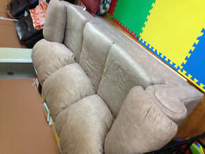 Matching Couch and Sofa Chair