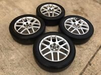 "GENUINE VW 16"" BBS GOLF BORA MONTREAL ALLOYS 5x100 SEAT SKODA IBIZA - SLOUGH"