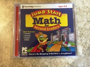 Jump Start Math for 2nd Graders (CD-Rom)