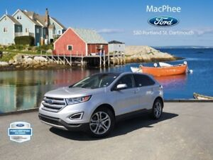 2016 Ford Edge Titanium  - Leather Seats -  Bluetooth -  Heated