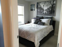 langley city 1bed+1den(with window) condo