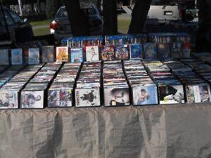 Lot DVD + Blu-ray 1100 films + de nombreuses séries originaux