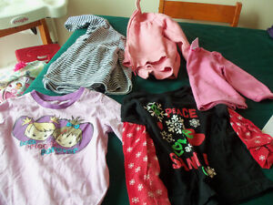 size 2 girls fall/winter clothes