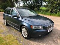2007 07 VOLVO V50 1.8 S FREEZING AIR CON ONE PREVIOUS OWNER CHEAP PX SWAPS