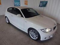 2011 11 BMW 1 SERIES 2.0 118D M SPORT 3D 141 BHP DIESEL