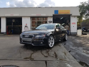 2010 Audi A4 2,0T Berline / Sedan Quattro Black