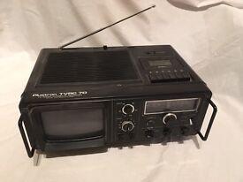 Plustron TVRC 7D TV Radio Cassette