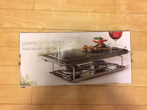 House or Patio Mini Stone Grill! Never Used! Moving Sale!