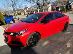 360$$ Brand new Cruze LT 2018 Red hot Model for lease takeover