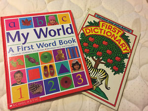 First word dictionary