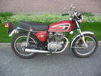 Honda vintage antique CB 360T- 1974