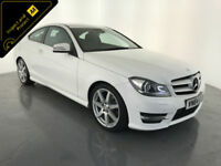 2014 64 MERCEDES C220 AMG SPORT EDITION CDI AUTOMATIC COUPE 1 OWNER FINANCE PX