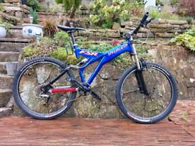 Specialized fsr ground control suspension mountain bike