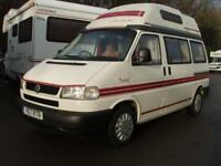 2001 Auto-sleeper Trident 4 Berth Hi-Top 2.4 Diesel
