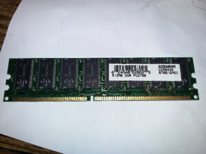 512MB DDR PC2700 RAM stick for PC
