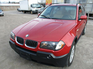 2005 BMW X3 AWD LEATHER PANAROMA ROOF NO ACCIDENTS