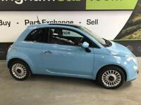 2013 63 FIAT 500 1.2 LOUNGE 3D 69 BHP