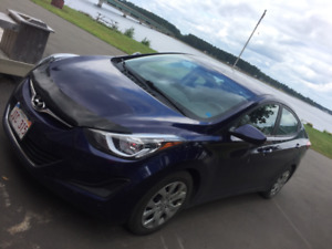 2014 Hyundai Elantra, Lease takeover, great on gas, works great!