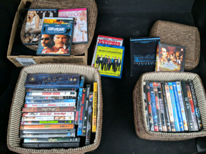 Assorted DVD and Blu-ray