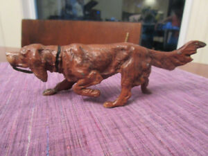 "Irish Red Setter - Iron Casting 2 x 5.""  Very nice"