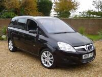 2009 09, Vauxhall Zafira 1.9 CDTi Elite 7 SEATS + SAT NAV + HEATED LEATHER