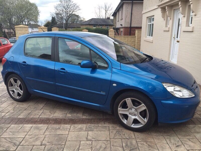 peugeot 307 hdi 2 0 110 d turbo towbar alloys leather interior in bradford west yorkshire