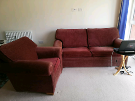 3 seater upholstery sofa and settee with wheels