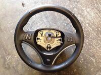Bmw 1 series e87 m sport steering wheel multi function