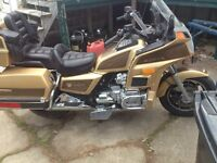 1985 honda Goldwing