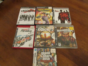 7 Playstation 3, and Playstation 2 Video Games