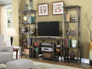 """""""COUNTRY SIDE TV STAND AND SHELF"""""""