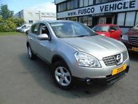 2008 Nissan Qashqai 1.6 Acenta - Silver - 12 months MOT + Platinum Warranty!