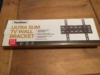 Ultra slim tv wall bracked