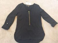 Lipsy blouse size 8 new with tags