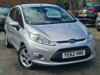 2012 Ford Fiesta Zetec 1.4 Auto Hatchback Petrol Automatic