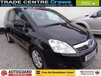 2010 VAUXHALL ZAFIRA 1.6 DESIGN PETROL 7 SEAT MPV CAR FINANCE FROM £25 P/WK