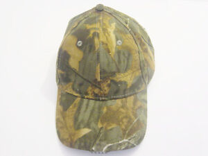 Camouflage Fishing Hat Wt 5 Led Lights